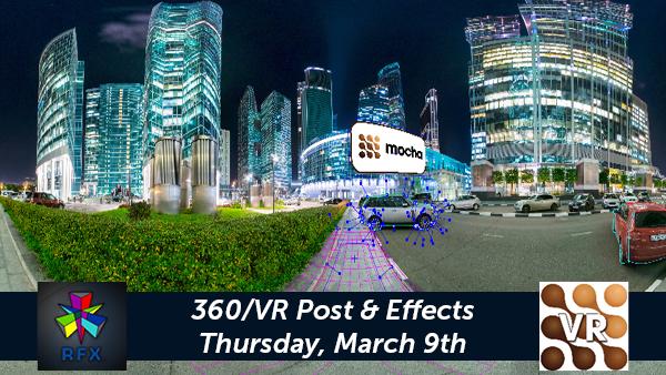 Mocha VR Event in LA